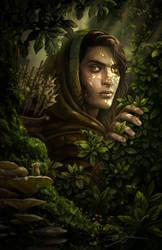 Elven Ranger by Manweri