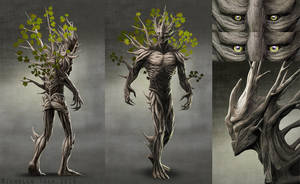 Forest Guardian project: Halarif by Manweri