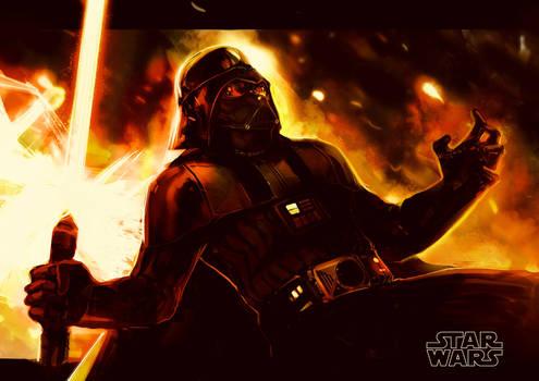 Darth Vader by MatoelGrande