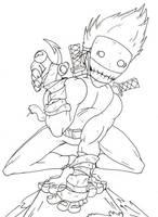 The madman ninja by lukehumphris