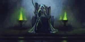 Sylvanas the Banshee Queen by Leevitron
