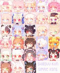 Simple Icon Wall by Shirouu-kun