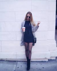 sexy city dress + heels by gretasophie