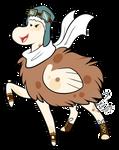 Fashionable Floophorse by BlueRocketMouse
