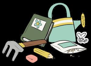 Agnes' Bag Contents by BlueRocketMouse