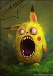 Pikachu by Verehin