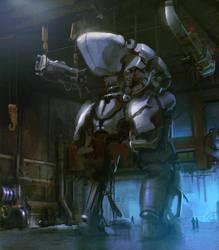Big robot by Verehin
