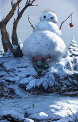 Ice cold terror by Verehin