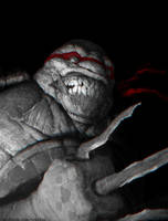 Teenage mutant ninja turtle by Verehin