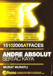 Andre Absolut At Faces by can