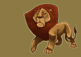 Lion by kookybird