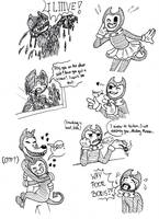 More Bendy + headcanon by AllyN-One