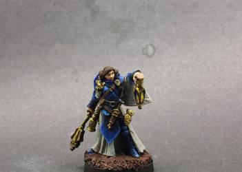 Female Cleric by Geoffryn