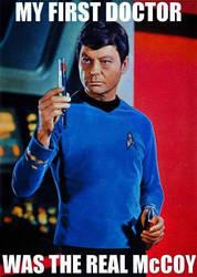 Dr. McCoy by Geoffryn
