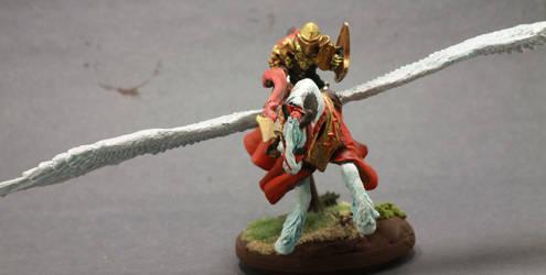 Pegasus And Knight by Geoffryn