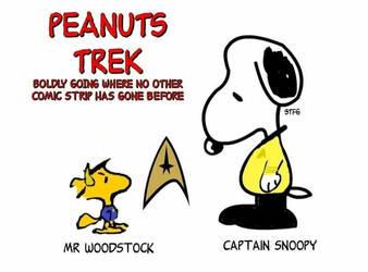 Peanuts Trek by Geoffryn