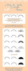 Lace tutorial by Motoko-Su
