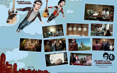 Flight of The Conchords by mreby