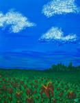 Field Landscape by Mistreena
