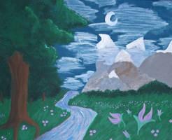 Fantasy Landscape by Mistreena