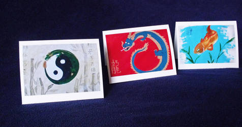 Painting Cards by Mistreena