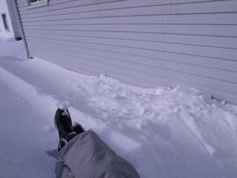 Sittin' in a Snowbank by Mistreena