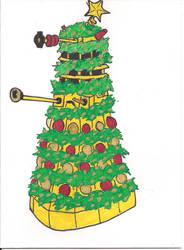 Christmas Dalek by Mistreena