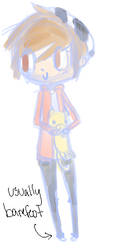 avery sketch for dreamland by Dinochu