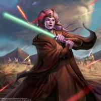 Star Wars Galaxy Card 2 by Conceptopolis