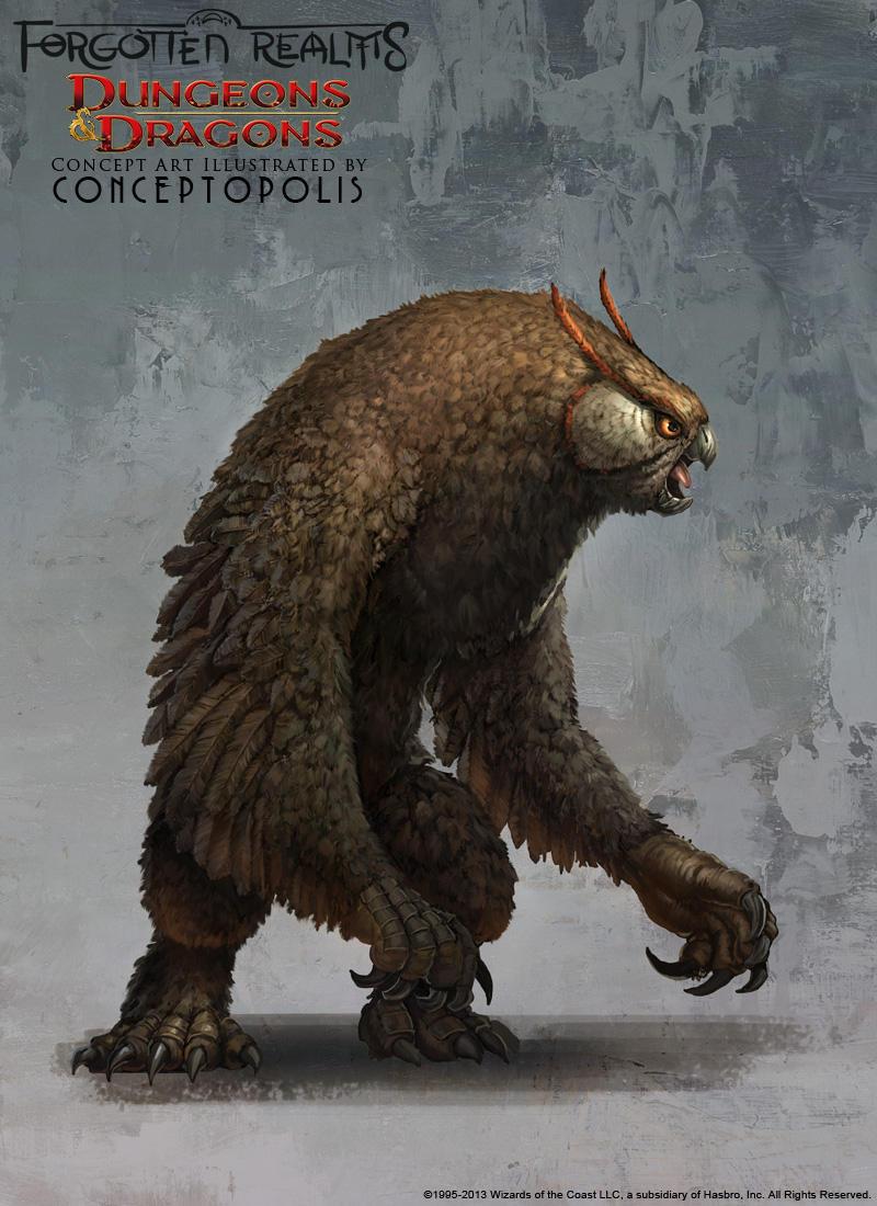 Owlbear (standard/basic) by Conceptopolis