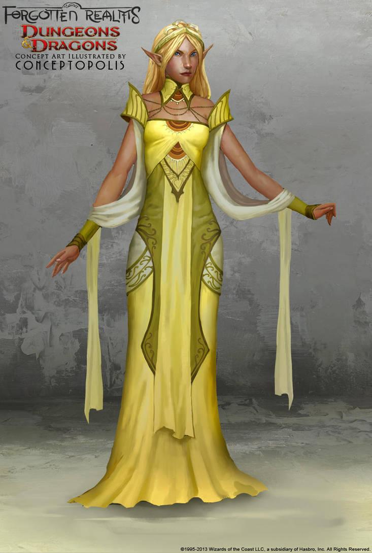 Sun Elf Female By Conceptopolis On Deviantart
