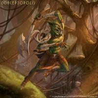 Raging Goblin by Conceptopolis