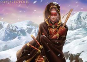 Phoenix Clan Champion L5R by Conceptopolis
