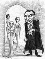 Dracula and his brides by KurtMAndersen
