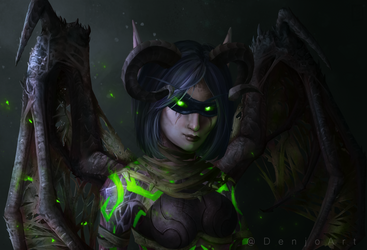 Sylvalum - Demon hunter by DenjoArt