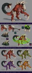 Felhunter Dehaka skin concept by DenjoArt