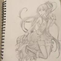 Kyoko Sakura by Esther-shenpai
