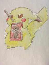 Pikachu! by Esther-shenpai
