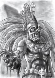 Mayan Emperor by Robus2