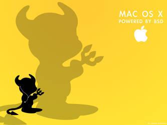 Powered By BSD - Yellow by BigJonnyP