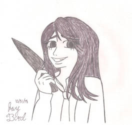 Inktober Day 31: Slice by Lady-Jay-Bird
