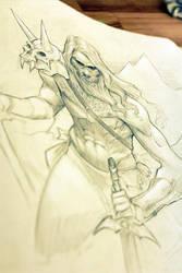 Mountain Warrior by rskizzen