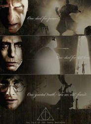 The Deathly Hallows by ABlueDove