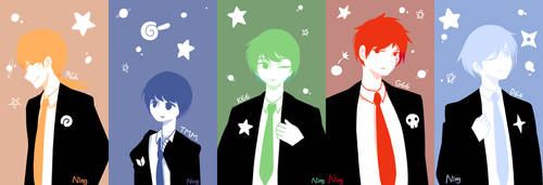 [Keroro] In the suits by Ning-Ku