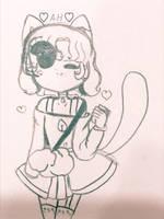 A : Harajuku Cat Adopt by uwueyes