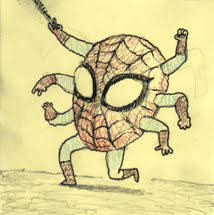 friendly neighborhood spider by lanbridge