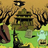 happy halloween by lanbridge