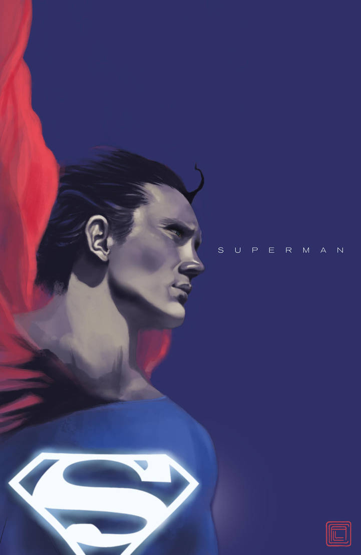 Superman by claudiall