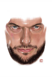 Game Face 1 Finn Balor by claudiall