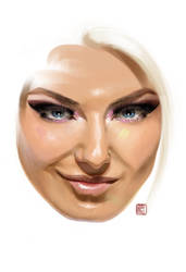 Game Face 2 Alexa Bliss by claudiall